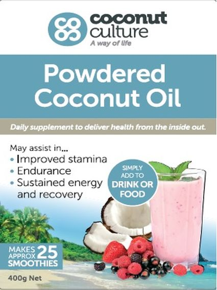 how to make coconut oil powder
